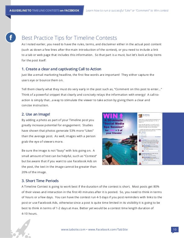 Guide to Facebook Timeline News Feed Contests for Facebook Pages