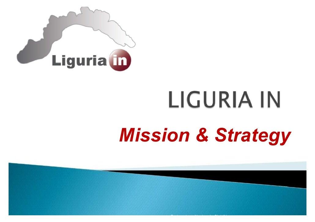 Mission & Strategy        Federazione Nazionale ClubIN