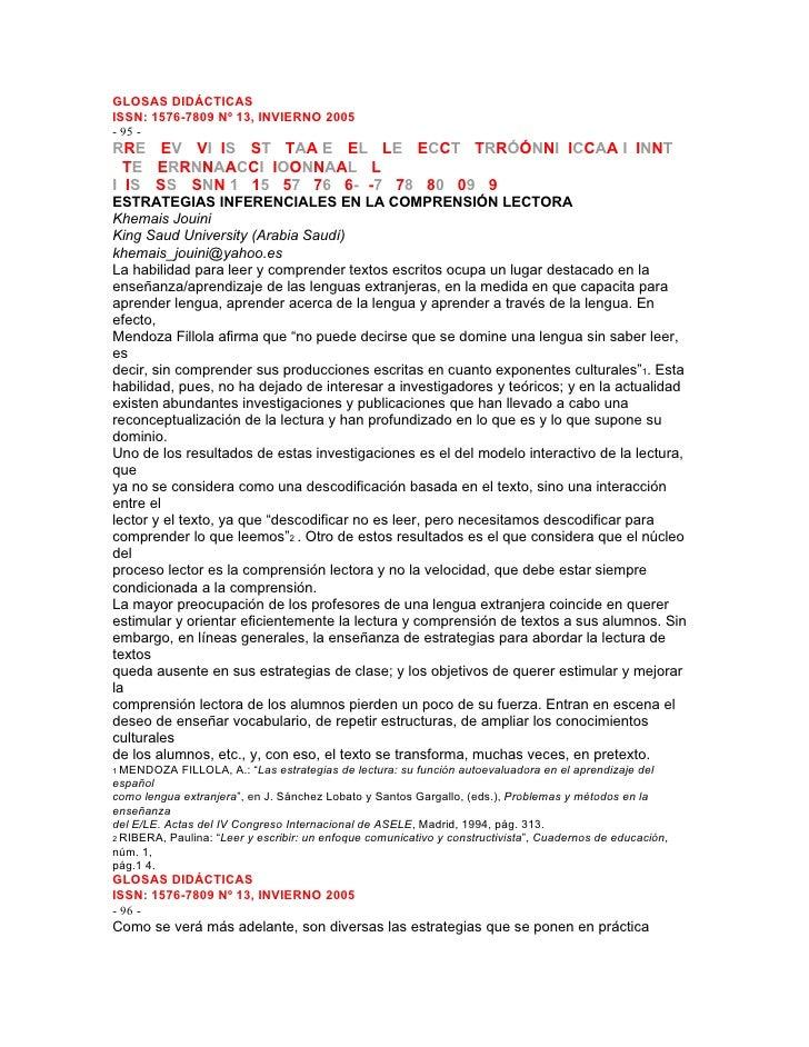 GLOSAS DIDÁCTICASISSN: 1576-7809 Nº 13, INVIERNO 2005- 95 -RRE EEV VVI IIS SST TTAA E EEL LLE EECCT TTRRÓÓNNI IICCAA I IIN...