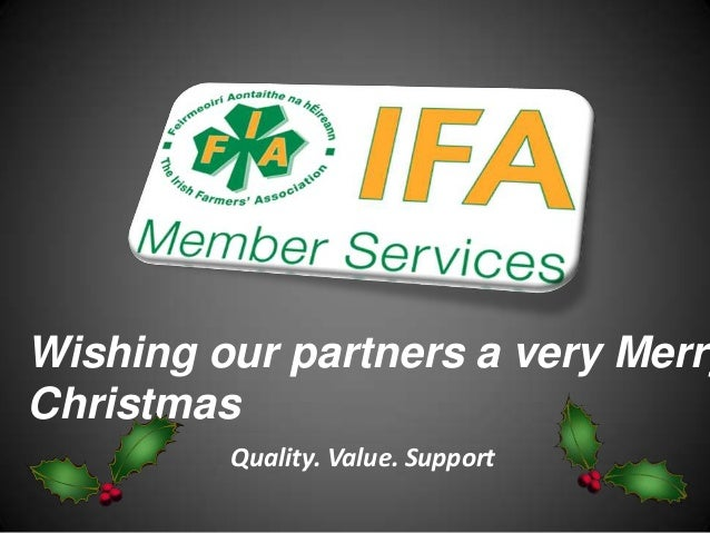 Wishing our partners a very MerryChristmas         Quality. Value. Support