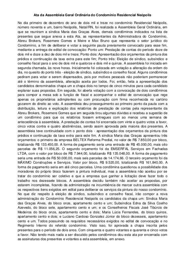 01 12 2013 Eleição De Síndico