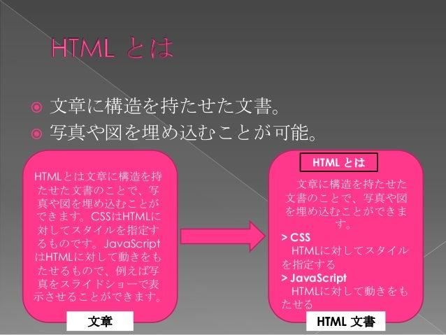  HTML に対してスタイルを指定するもの。