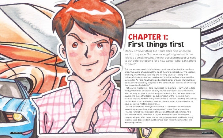 CHAPTER 1:                      First things first                  Money isn't everything but it sure does help when you ...