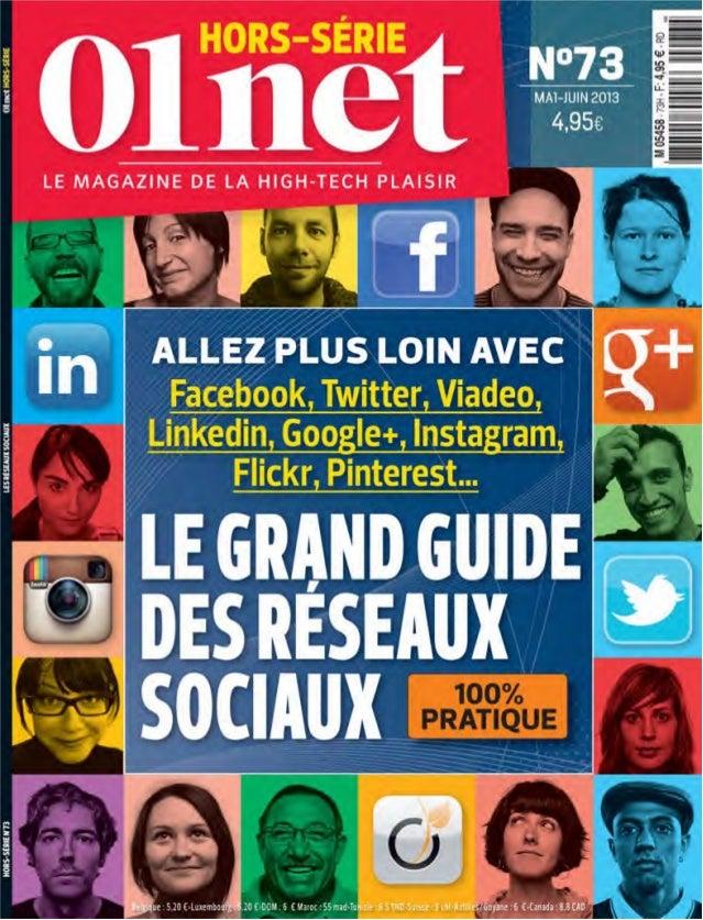 les medias sociaux mai juin 2013