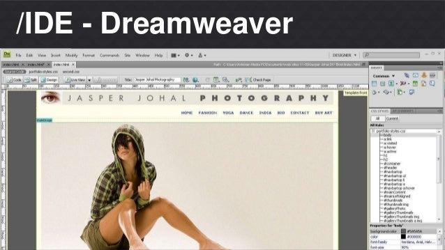 Matheus S. Thomaz  Front-end Developer  /IDE - Dreamweaver