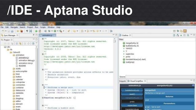 Matheus S. Thomaz  Front-end Developer  /IDE - Aptana Studio