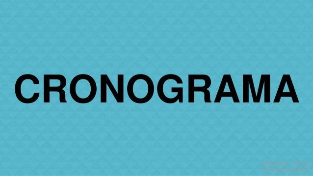 CRONOGRAMA  Matheus S. Thomaz  Front-end Developer