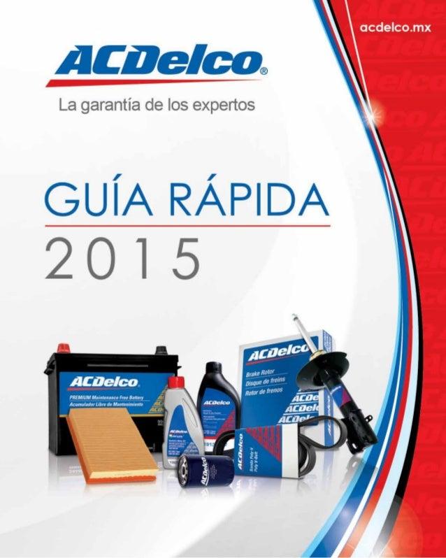 ACDelco es reconocida como la marca líder global en el mercado de Autopartes. Durantemásde100añoshafijadoestándaresdealtac...