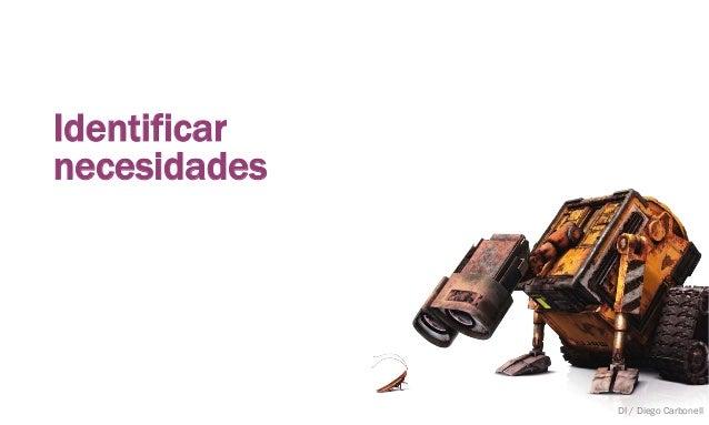 Identificar necesidades DI / Diego Carbonell