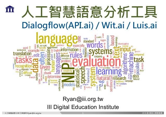 DgP]3XXX V be i . BMPHGMPW B ? T B S B Ryan@iii.org.tw III Digital Education Institute 1