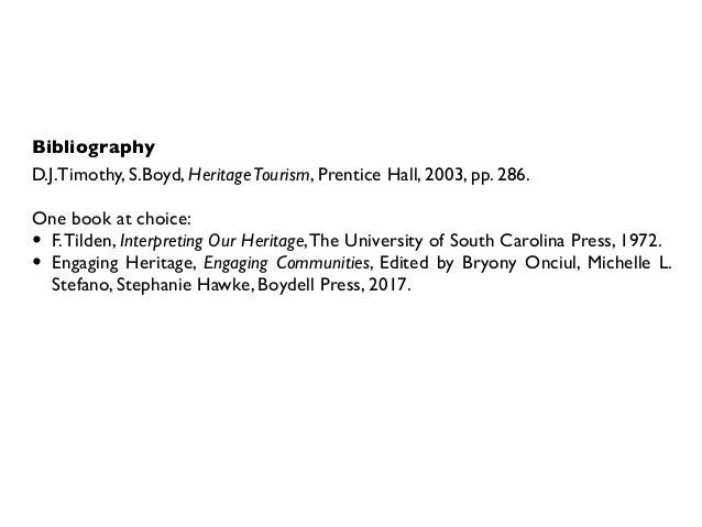 Iolanda Pensa, Heritage Management 2018, Introduction Slide 3