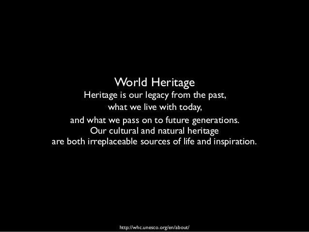 Iolanda Pensa, Heritage Management 2018, Heritage Slide 3