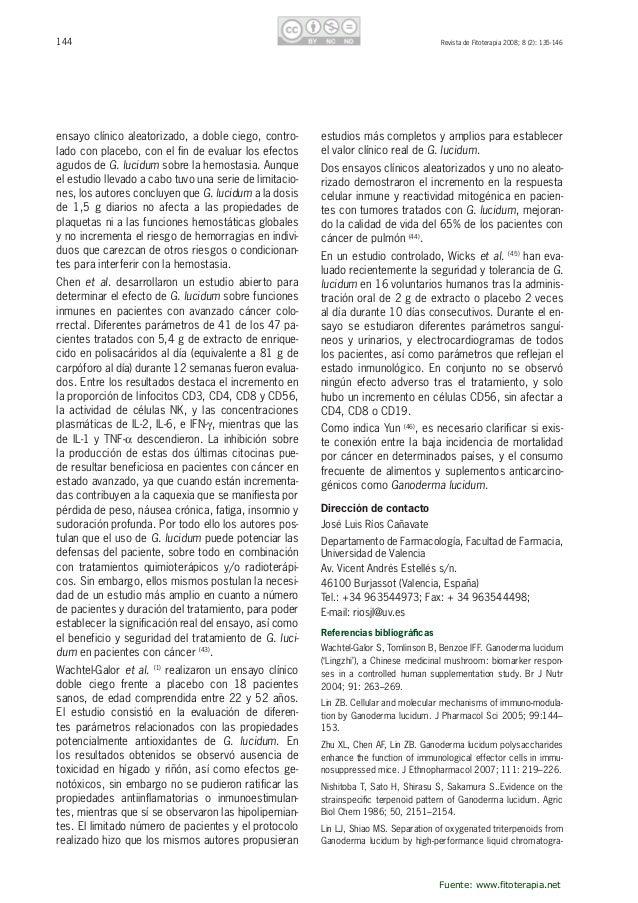 145RevistadeFitoterapia2008;8(2):135-146 phy.JChromatogr1987;410:195–200. HirotaniM,InoC,HirotaniTFM,Ino...