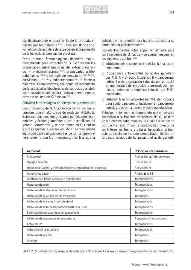 140 RevistadeFitoterapia2008;8(2):135-146 ricoX(FIGURA3)esposiblementeunodelosmás relevantesporsupotenc...
