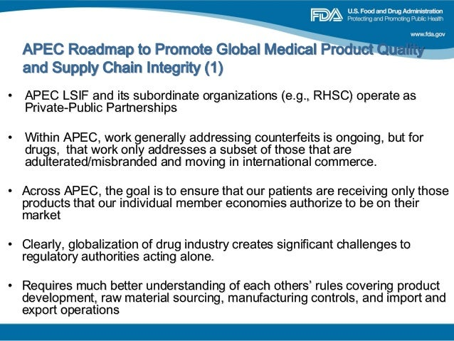 Session Mark Paxton US FDA APEC Roadmap To Promote Global Medi - Fda map of us