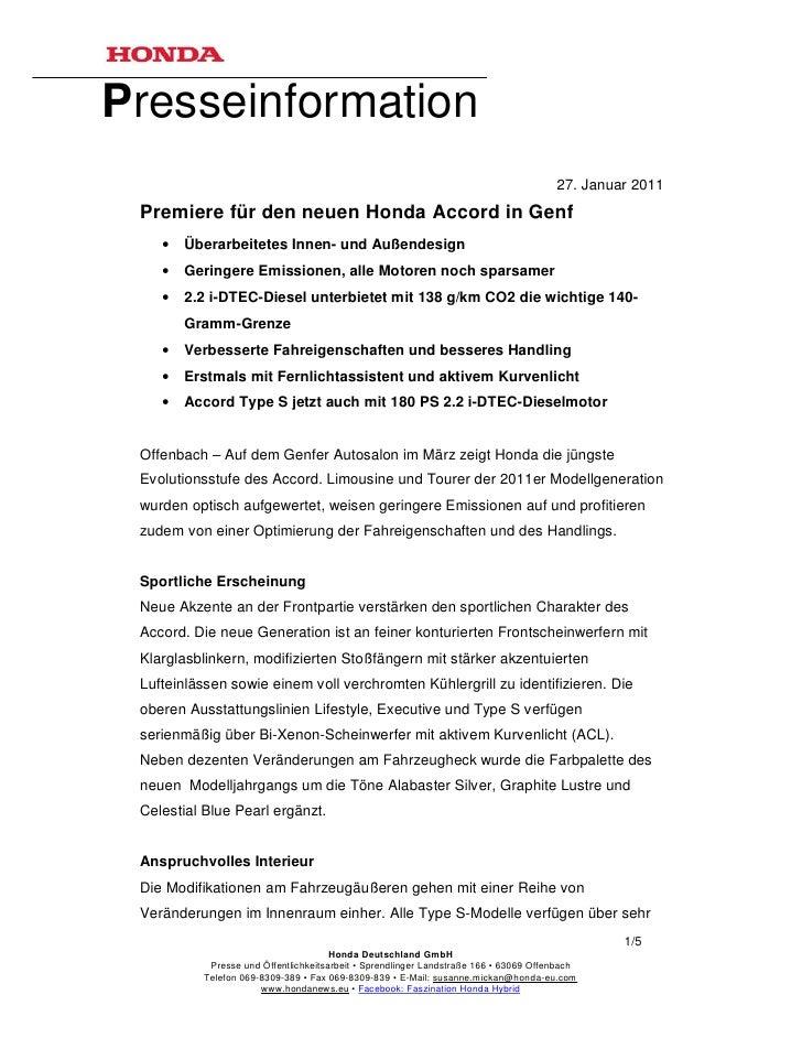 Presseinformation                                                                                       27. Januar 2011 Pr...