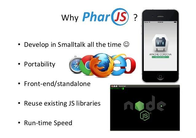 PharoJS: Pharo-Based TDD for Javascript Applications