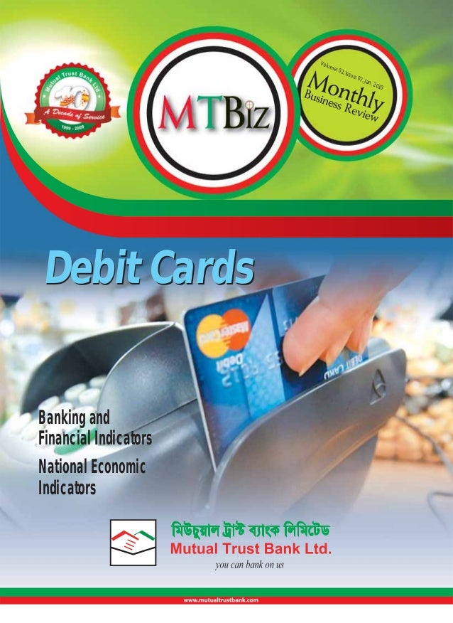 Volu  me:  Debit Cards  Banking and Financial Indicators National Economic Indicators  02, I  ssue  : 07,  Jan.  201  0