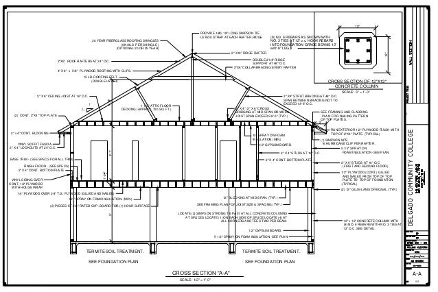 01 212 House Cross Section A A 2