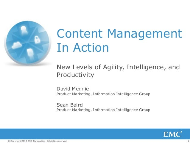 Content Management                                            In Action                                            New Lev...