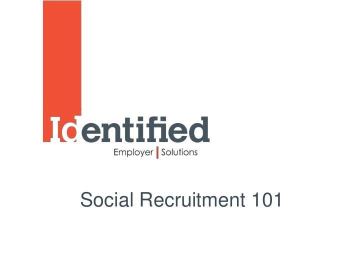 Social Recruitment 101