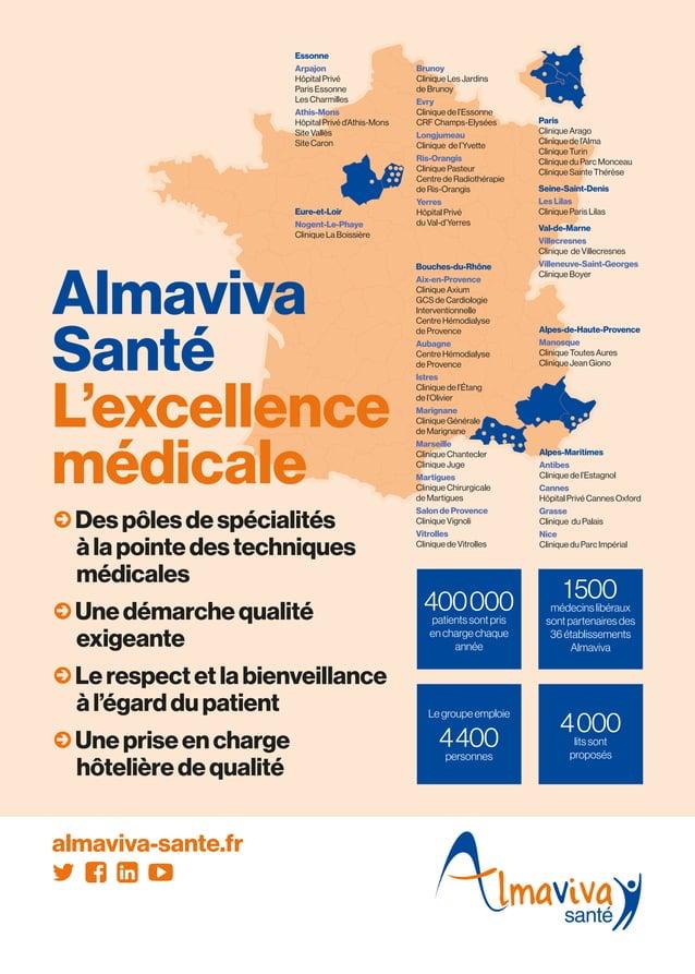 Alpes-de-Haute-Provence Manosque Clinique Toutes Aures Clinique Jean Giono Alpes-Maritimes Antibes Clinique de l'Estagnol ...