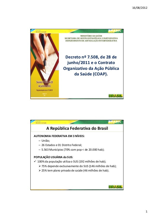 16/08/2012                                    MINISTÉRIO DA SAÚDE                      SECRETARIA DE GESTÃO ESTRATÉGICA E ...