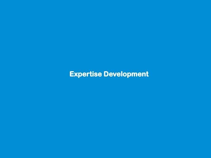 Expertise Development