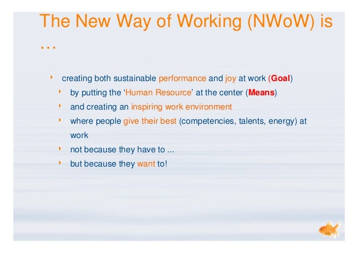 new ways of working knowledge sharing dirk w bijl