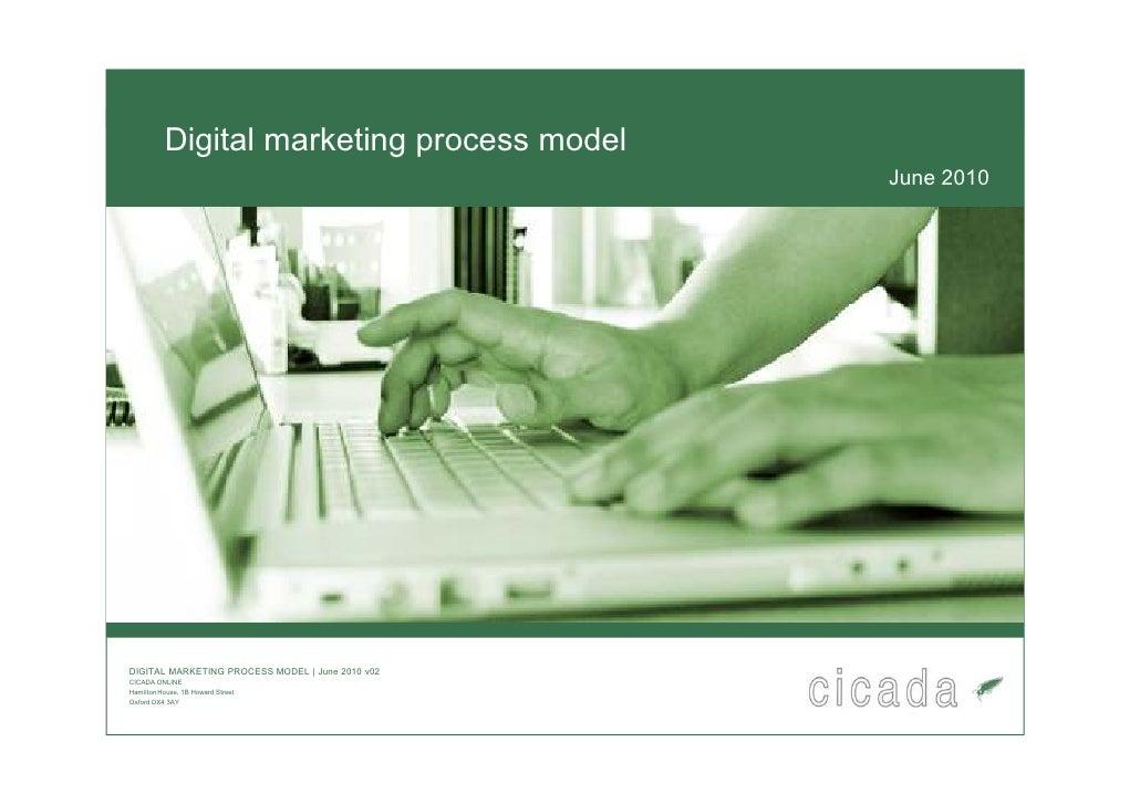 Digital marketing process model                                                   June 2010     DIGITAL MARKETING PROCESS ...