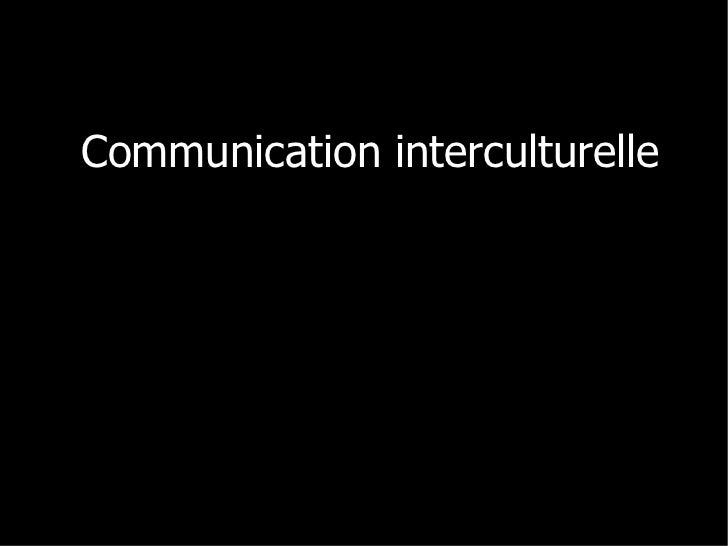 Communication interculturelle