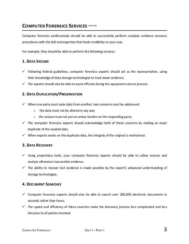 Computer Forensics Fundamentals   Notes