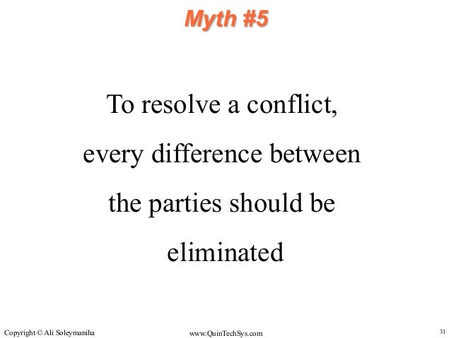 an introduction to the analysis of conflict management Conflict management essays one style of conflict management is the cooperation approach, where the manager attempts to create cooperation and teamwork among the members of a team who have a conflict.
