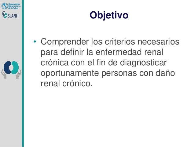Criterios para Definir Enfermedad Renal Cronica