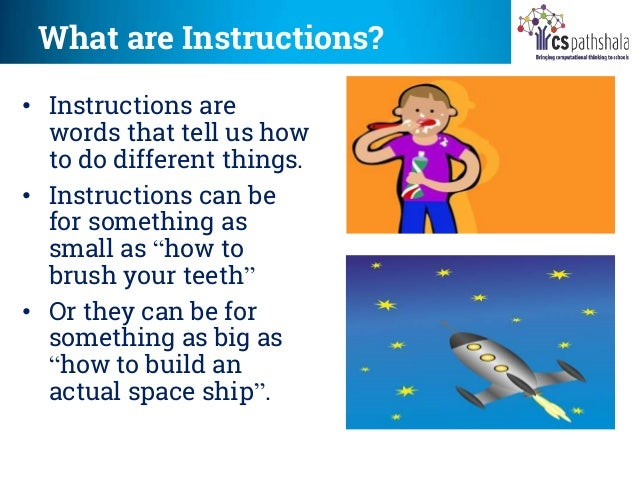 Understanding Simple Instructions
