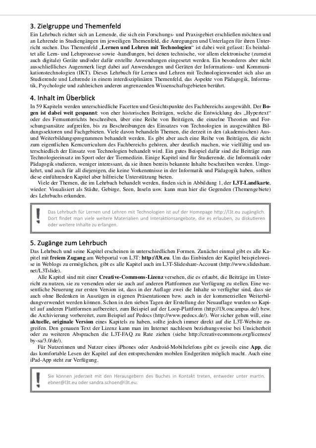 Einleitung - zum Lehrbuch und dem etwas anderen Lehrbuchprojekt Slide 3