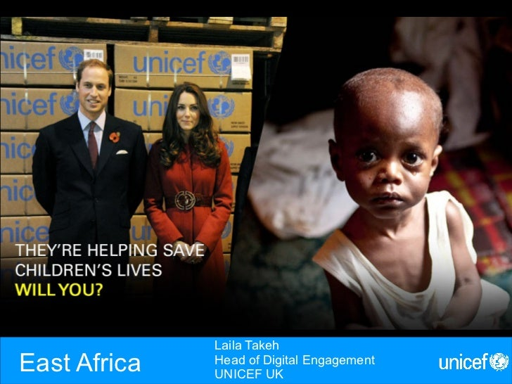 Laila TakehEast Africa   Head of Digital Engagement              UNICEF UK