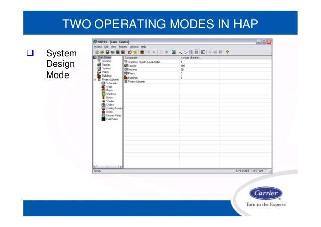 carrier system design manual load estimating