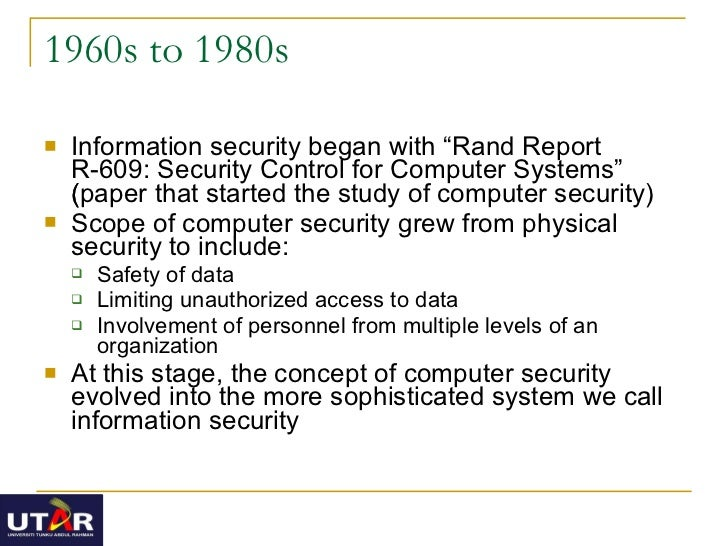 Introduction to information systems security essay