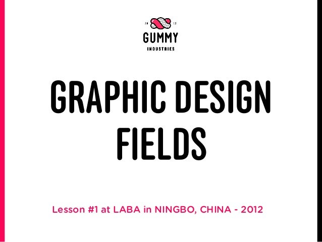 GRAPHIC DESIGN    FIELDSLesson #1 at LABA in NINGBO, CHINA - 2012