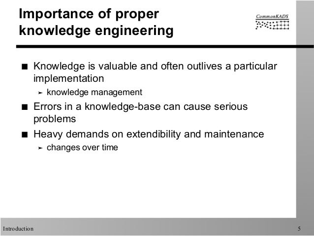 knowledge engineering and management the commonkads methodology