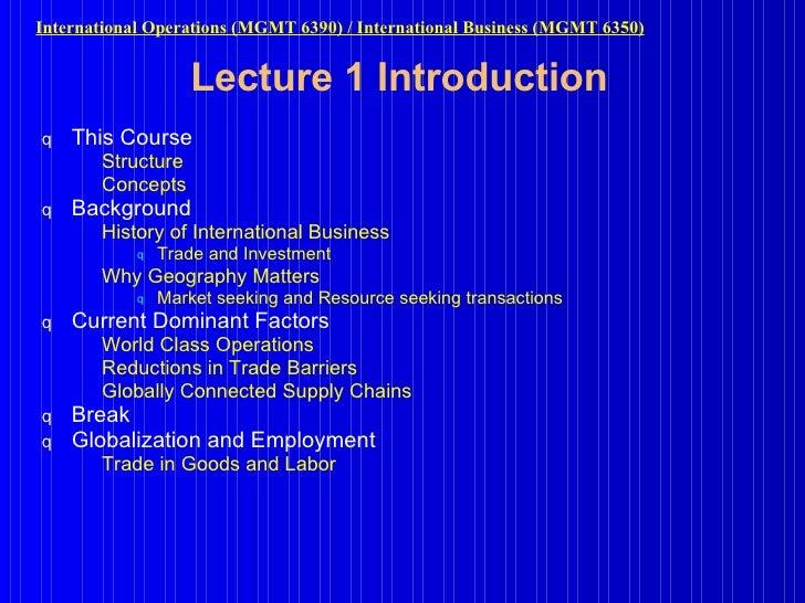 Lecture 1 Introduction <ul><li>This Course  </li></ul><ul><ul><li>Structure </li></ul></ul><ul><ul><li>Concepts  </li></ul...