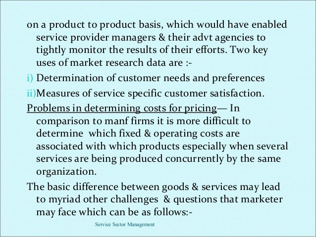Challenges associated with high fixed costs