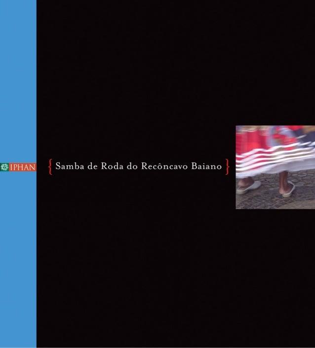 Samba de Roda do Recôncavo Baiano }{dossiê iphan 4