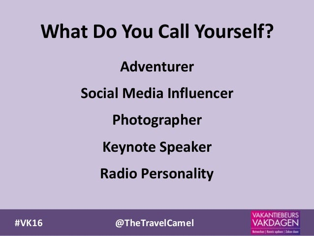 VK16 TheTravelCamel Gary Arndt EverywhereTrip 7 Adventurer Social Media