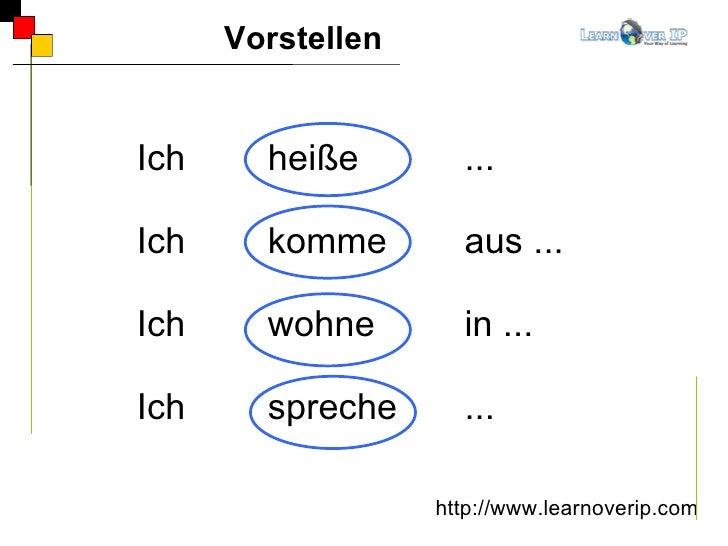 german a1 lektion1 vorstellen