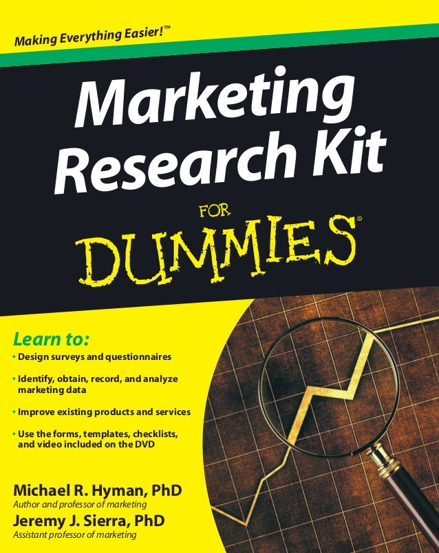 Michael R. Hyman, PhD Author and professor of marketing Jeremy J. Sierra, PhD Assistant professor of marketing Learn to: •...