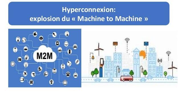Un cyberespace plus vaste, peuplé, diversifié… Hyperconnexion: explosion du « Machine to Machine »