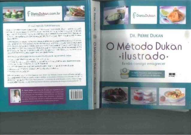 Livro Metodo Dukan Ilustrado Introducao