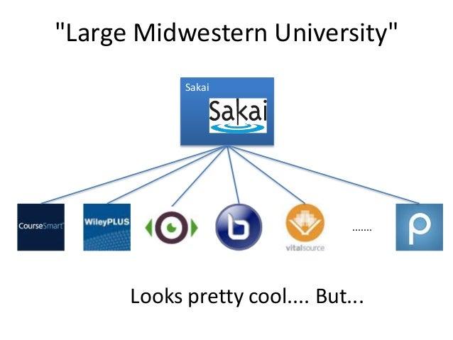 """Large Midwestern University"" Sakai ....... Looks pretty cool.... But..."